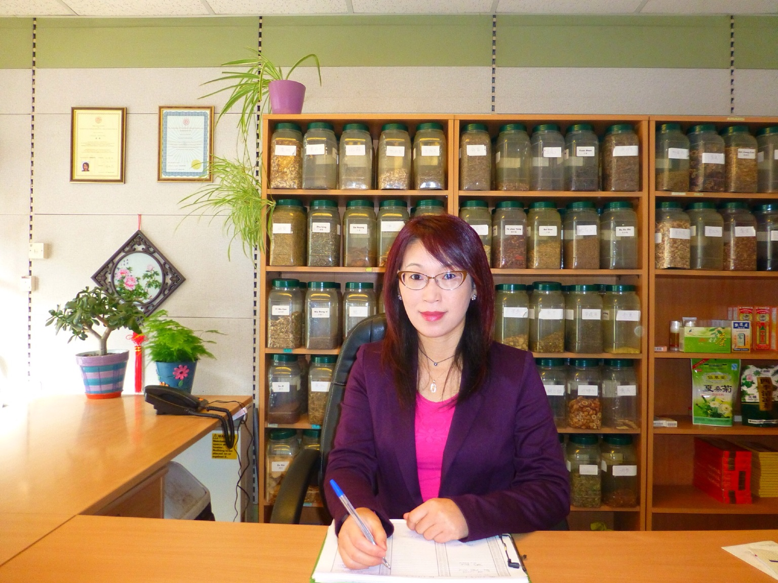 practitioner of Acupuncture & Herbs